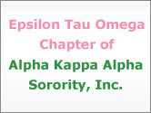 Epsilon Tau Omega Chapter of Alpha Kappa Alpha Sorority, Inc.