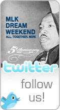 Follow MLK Dream Weekend on Twitter